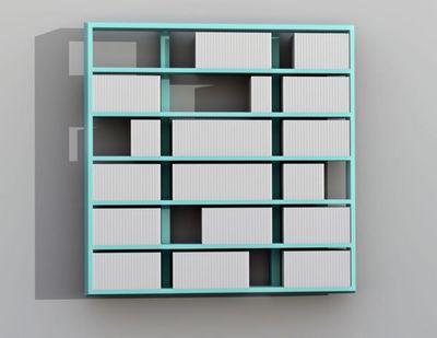 MALHERBE EDITION - Bibliothèque modulable-MALHERBE EDITION-Bibliothèque Wall Disc Suspendue