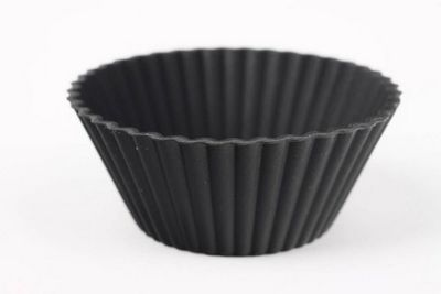 WHITE LABEL - Moule à tarte-WHITE LABEL-Lot de 10 mini moules en silicone
