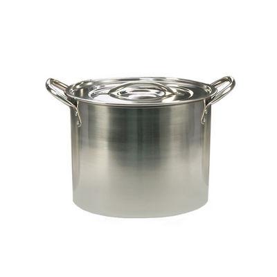 WHITE LABEL - Marmite-WHITE LABEL-Marmite traiteur tout inox avec couvercle
