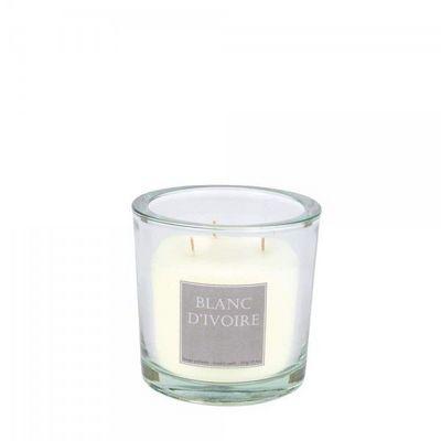 BLANC D'IVOIRE - Bougie parfum�e-BLANC D'IVOIRE-FLEUR D'ENCENS