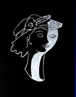 ARMAND ISRAËL - Lithographie-ARMAND ISRAËL-Elle et Lui de Georges BRAQUE lithograph