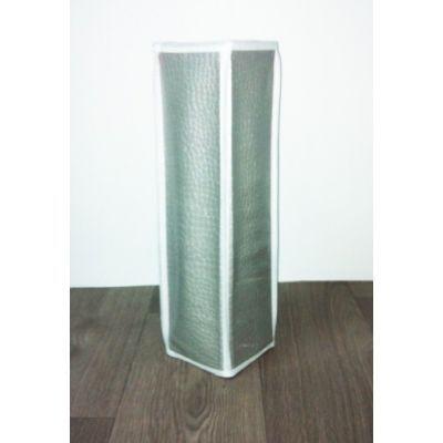 Cm - Porte-papier hygiénique-Cm-Range papier toilette croco - Couleur - gris