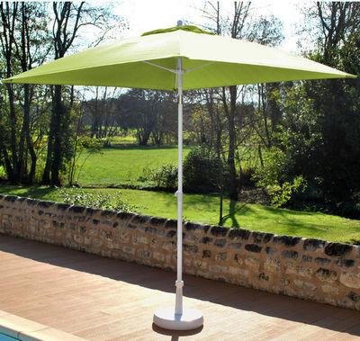 PROLOISIRS - Parasol-PROLOISIRS-Parasol inclinable fibre de verre Anis