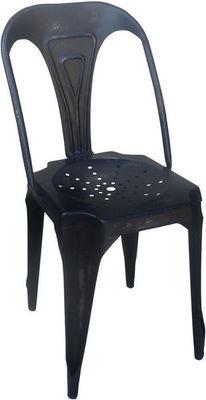 Antic Line Creations - Chaise-Antic Line Creations-Chaise Vintage en métal Noir