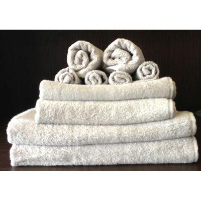 TODAY - Serviette de toilette-TODAY-Set serviettes de bain zinc