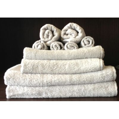 TODAY - Serviette de toilette-TODAY-Set serviettes de bain zinc