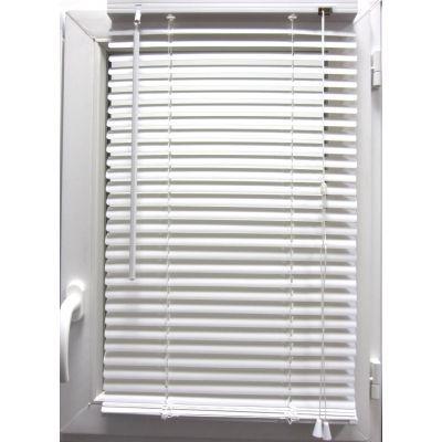Luance - Store enrouleur-Luance-Store vénitien PVC blanc 60x180 cm