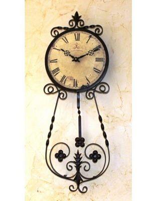 L'HERITIER DU TEMPS - Horloge murale-L'HERITIER DU TEMPS-Horloge Murale à Balancier d'Antan 25cm