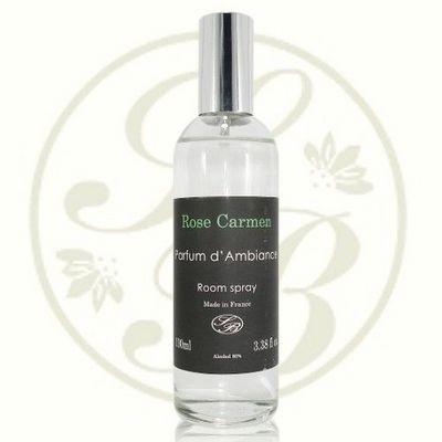 Savonnerie De Bormes - Parfum d'int�rieur-Savonnerie De Bormes-Parfum d'ambiance - Black Ligne - Rose Carmen - S
