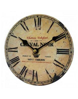 L'HERITIER DU TEMPS - Horloge murale-L'HERITIER DU TEMPS-Petite Pendule Style Industriel 16,5cm