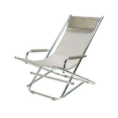 La Chaise Longue - Transat-La Chaise Longue-Chaise de jardin Argent