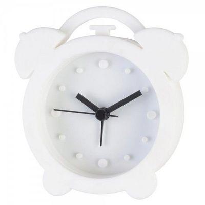 La Chaise Longue - Réveil matin-La Chaise Longue-Réveil rétro silicone blanc