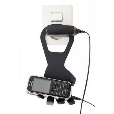 INVOTIS - Porte-t�l�phone mobile-INVOTIS-Porte portable Main Noir