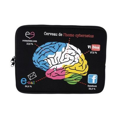 La Chaise Longue - Etui de tablette-La Chaise Longue-Etui d'ordinateur portable 13 Brain