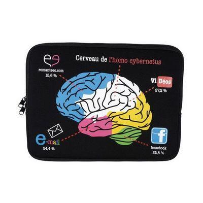 La Chaise Longue - Etui de tablette-La Chaise Longue-Etui d'ordinateur portable 13 Brain