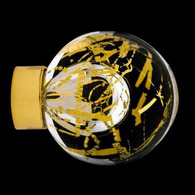 Les Verreries De Brehat - Bouton de porte-Les Verreries De Brehat-Malo flash incolore et or