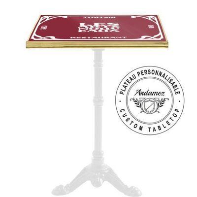 Ardamez - Plateau de table bistrot-Ardamez-Plateau de table de bistrot émaillé personnalisé