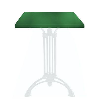 Ardamez - Plateau de table-Ardamez-Plateau de table �maill� sur acier / vert