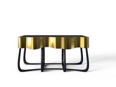 BOCA DO LOBO - Table de chevet-BOCA DO LOBO-Sinuous