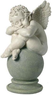 Antic Line Creations - Statuette-Antic Line Creations-Statuette Ange dormeur en résine