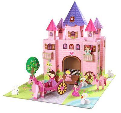 KROOOM-EXKLUSIVES FUR KIDS - Château fort-KROOOM-EXKLUSIVES FUR KIDS-Jeu Château de princesse Trinny