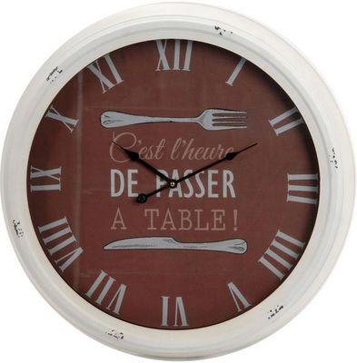 Amadeus - Horloge murale-Amadeus-Horloge bistrot A Table 63cm