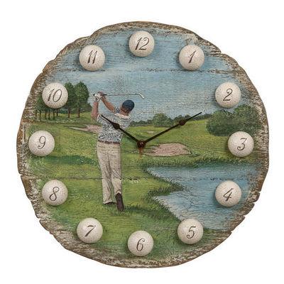Interior's - Horloge murale-Interior's-Horloge ronde Golf