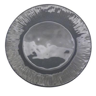 Interior's - Assiette à dessert-Interior's-Assiette plate grise