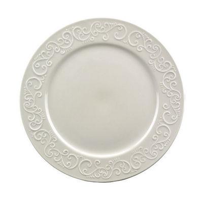 Interior's - Assiette plate-Interior's-Assiette plate en porcelaine Arabesque
