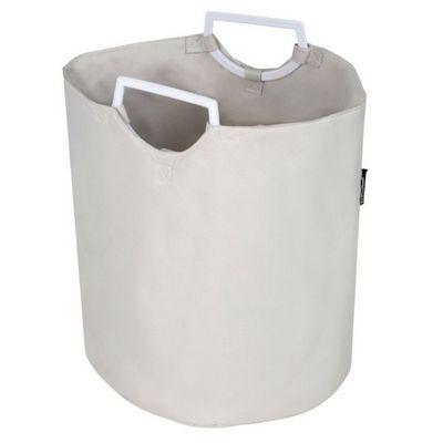 WHITE LABEL - Panier à linge-WHITE LABEL-Panier corbeille coffre à linge 30 L