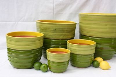 Les Poteries Clair de Terre - Pot de jardin-Les Poteries Clair de Terre-Séquoia