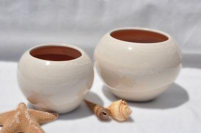 Les Poteries Clair de Terre - Vase d�coratif-Les Poteries Clair de Terre-Bor�al
