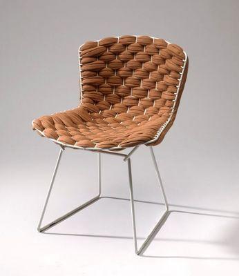 CLEMENT BRAZILLE - Chaise-CLEMENT BRAZILLE-Bertoia Chair revisité
