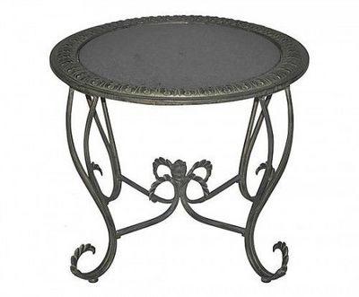 Demeure et Jardin - Table de jardin-Demeure et Jardin-Table plateau de marbre