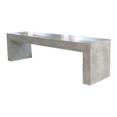 Mathi Design - Banc-Mathi Design-Banc beton massif