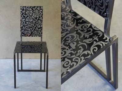 Mathi Design - Chaise-Mathi Design-Chaise Steel