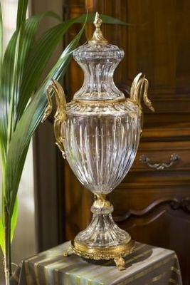 Cristallerie de Montbronn - Vase couvert-Cristallerie de Montbronn
