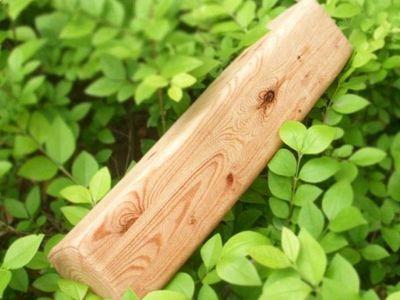 WHITE LABEL - Coussin forme originale-WHITE LABEL-Mini oreiller bois coussin coussinet oreiller drol