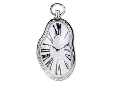 WHITE LABEL - Horloge murale-WHITE LABEL-Horloge murale avec une forme fondante  deco maiso