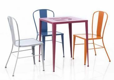 Mathi Design - Chaise-Mathi Design-Chaise métal Coffee
