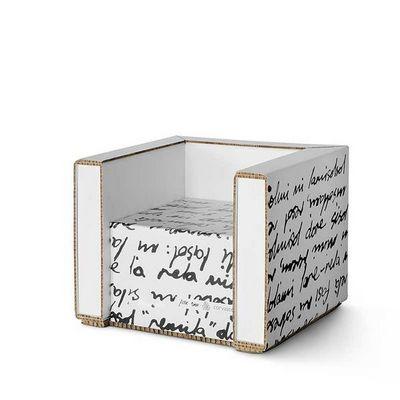 Corvasce Design - Fauteuil-Corvasce Design-Poltrona in cartone
