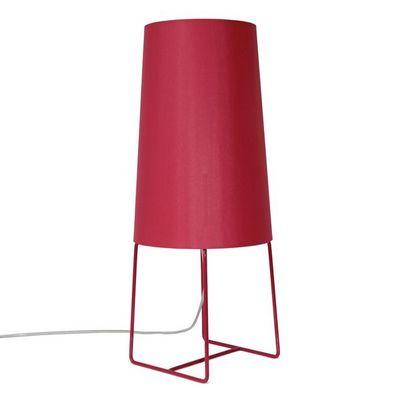 FrauMaier - Lampe à poser-FrauMaier-MINISOPHIE - Lampe à poser Rouge H46cm | Lampe à p