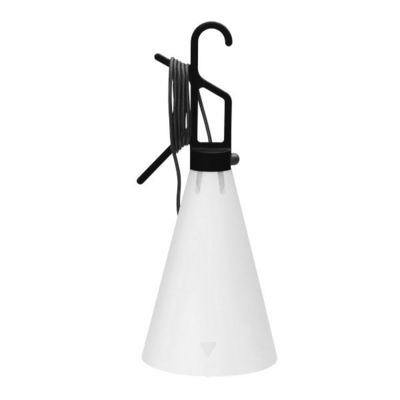FLOS - Lampe à poser-FLOS-MAY DAY - Lampe à poser ou à suspendre Noir H53cm