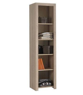 WHITE LABEL - Colonne de rangement-WHITE LABEL-Biblioth�que ALINE design ch�ne