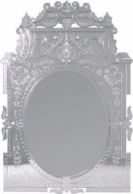 WHITE LABEL - Miroir-WHITE LABEL-Miroir baroque VERSAILLES