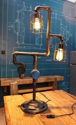 COMPAGNIE DES AMPOULES A FILAMENT - Lampe à poser-COMPAGNIE DES AMPOULES A FILAMENT-Lampe Tube & Compteur