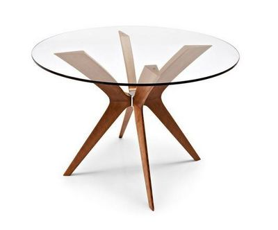 Calligaris - Table de repas ronde-Calligaris-Table ronde de repas TOKYO de CALLIGARIS  110x110