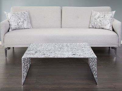 BELIANI - Table basse rectangulaire-BELIANI-Tables basses
