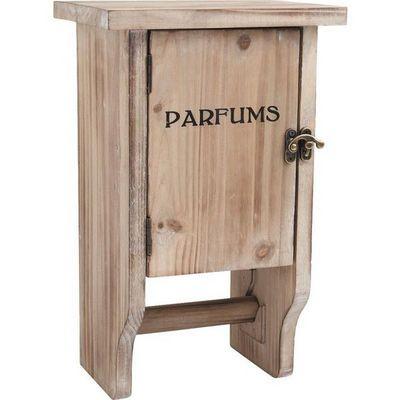 Aubry-Gaspard - Distributeur papier toilette-Aubry-Gaspard-Dérouleur papier toilette avec petite armoire