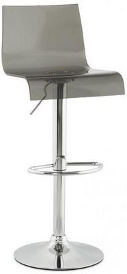 KOKOON DESIGN - Chaise haute de bar-KOKOON DESIGN-Tabouret hauteur r�glable Plexi Smoke